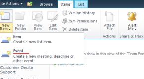 Using built-in content types in SharePoint 2010