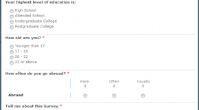Using Survey template in sharepoint – Part I