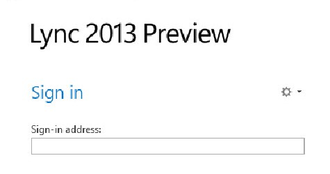 Lync 2013 Customer Preview