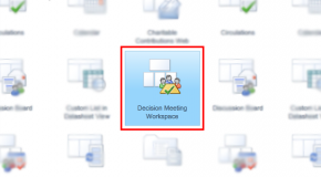 Using Decision Meeting Workspace in Sharepoint 2010, Office 365 – Part I