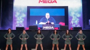 Kim Dotcom launches mega.co.nz