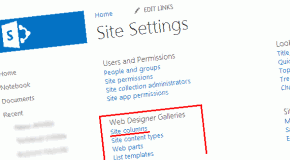 Using Site Columns in Sharepoint 2013