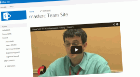 Embed Youtube videos in Sharepoint 2013 web pages