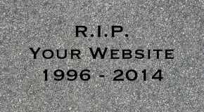 The quick, quick slow death of the website